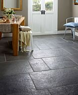 Somerset Grey Sandblasted & Brushed Limestone Floor 600x600mm