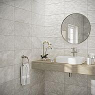 Skye Grey Gloss Ceramic Wall Tile 250x500mm (NEW)