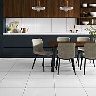 Sugar White Glazed Porcelain Wall & Floor Tile  300 x 600mm