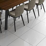 Sugar White Glazed Porcelain Wall & Floor Tile 600x600mm