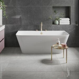 P11606 Leto Grey Glazed Polished Porcelain Tile