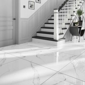 P11437 Vienna Blanco Glazed Porcelain Tile 900x900mm