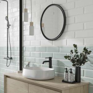 P11540 Metro Mint Ceramic Wall Tile 100x300mm